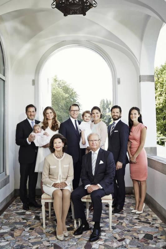 Фото: kungahuset.se/Маттиас Эдуолл / Королевская семья