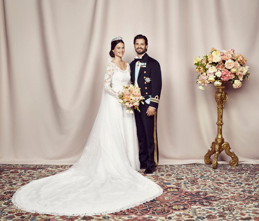 Фото: kungahuset.se/Маттиас Эдуолл /Его Королевское Высочество принц Карл Филипп и Ее Королевское Высочество принцесса София