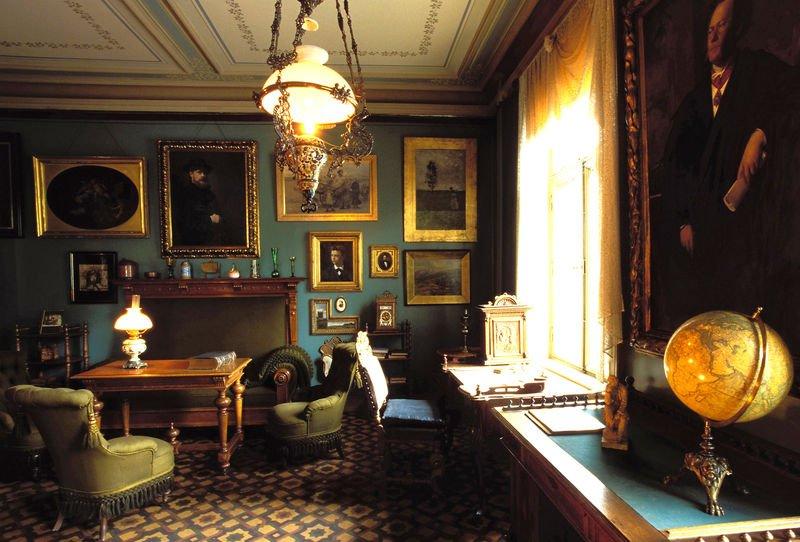 Музей Ибсена в Осло/ Кабинет писателя