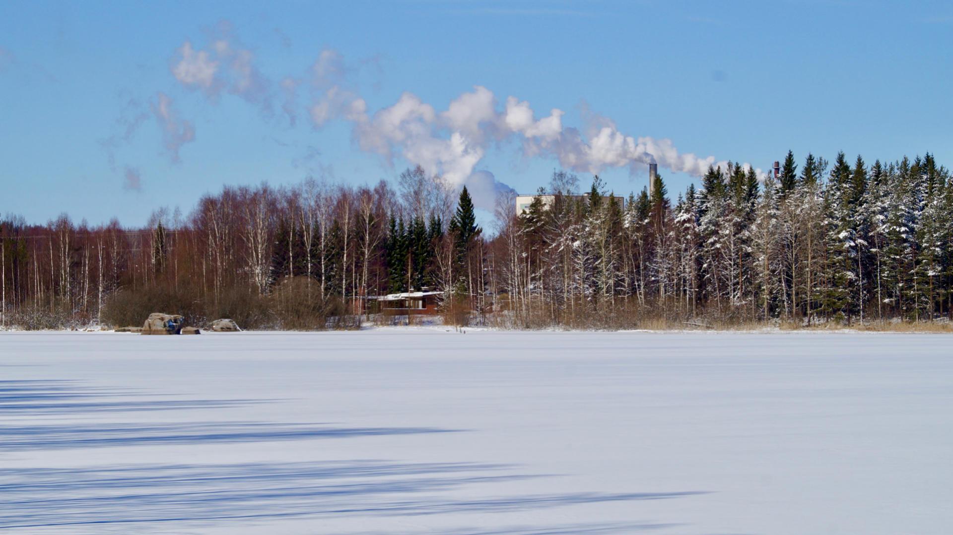 Завод концерна Metsä Group в Ээнекоски – один из крупнейших инвестиционных проектов в истории Фтнляндии. Фотография: ScandiNews