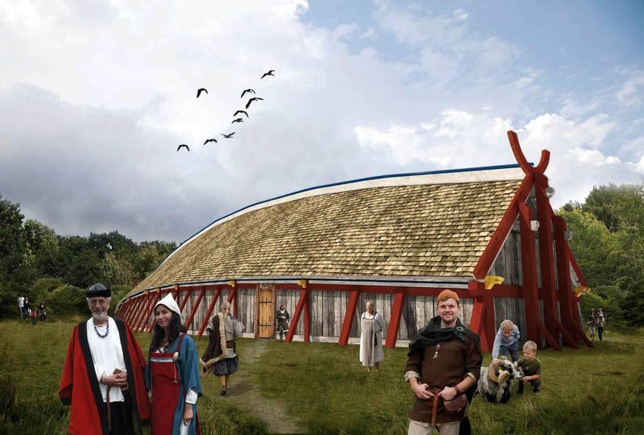 дом эпохи викингов jyllands-posten.dk