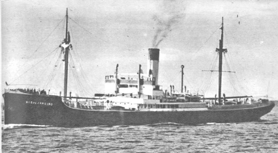 Немецкое транспортное судно «Рио-де-Жанейро» navycollection.narod.ru