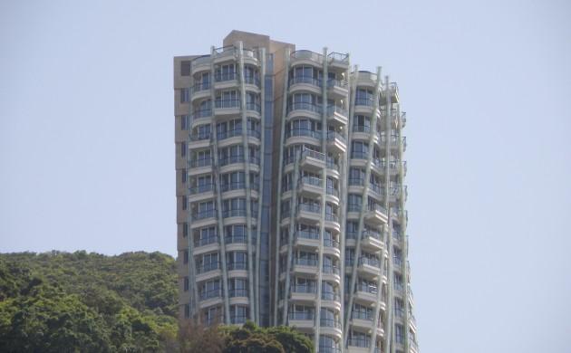 Двухэтажные апартаменты в шикарном здании Опус Гонконг (Фото: Exploringlife)